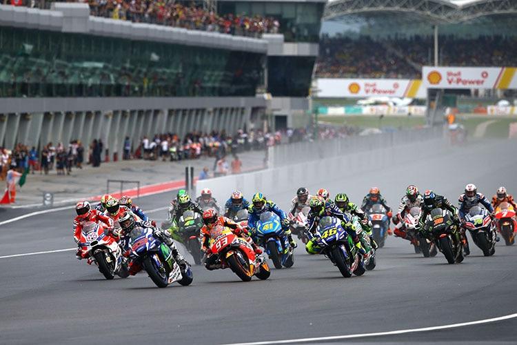 MotoGP-Sieg in Malaysia