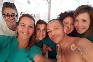 Valentino Rossi war im «Ospedale Infermi» in den besten Händen
