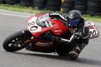 Harry Fath war auf der Ducati 996 schon zu Pro Superbike-Zeiten in den 1990er-Jahren unterwegs