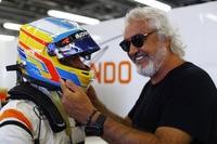 Flavio Briatore mit Fernando Alonso