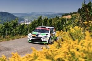 Fabian Kreim bei der ADAC Rallye Deutschland