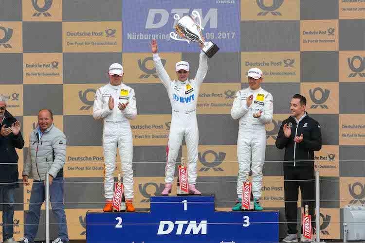Wickens gewinnt Sonntags-Rennen der DTM