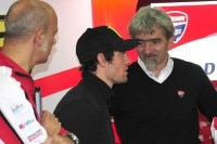 Gigi Dall'Igna und Cal Crutchlow beim November-Test in Valencia