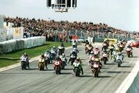 Start zum 1. Pro-Superbike-Rennen auf dem Sachsenring 1996