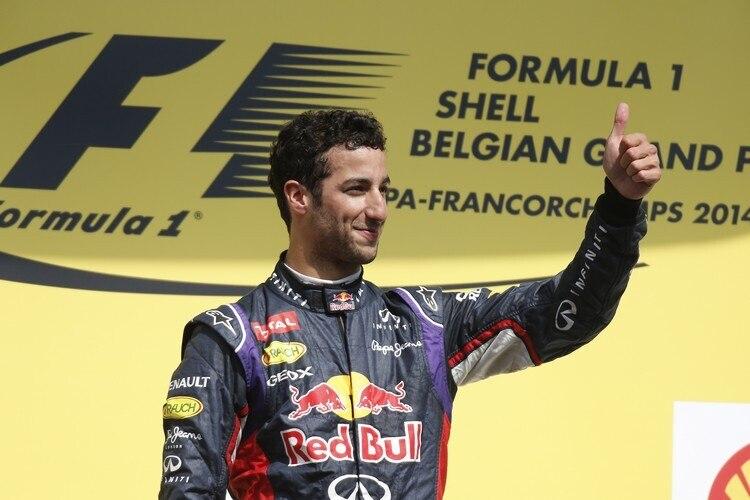Ricciardo Sebastian Vettel Wollte Nicht Aufhoren Formel 1 Speedweek