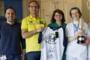 Leiter des offiziellen Rossi-Fan-Clubs Flavio Fratesi brachte die Geschenke des neunfachen Weltmeisters in das Kinder-Krankenhaus von Parma