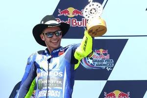 Platz 2 in Texas für Valentino Rossi