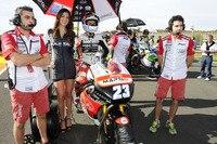 Marcel Schrötter, zweifacher IDM-125-Meister: Sein Startplatz in der Moto2-WM 2013 sicherten private Sponsoren