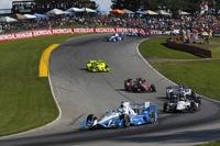 Josef Newgarden in der IndyCar Series auf der Überholspur