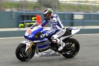 Jorge Lorenzo, Sieger des Saisonauftakts in Katar