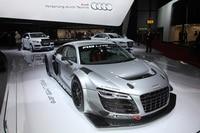 M-Sport übt mit einem Audi in der britischen GT