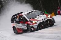 Geht die Erfolgsserie weiter? Jari-Matti Latvala im Toyota Yaris WRC