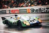 Der Porsche 917 Langheck von Gérard Larrousse und Willi Kauhsen in Le Mans 1970