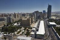Baku: Heisses Wetter, neuer und dunkler Asphalt