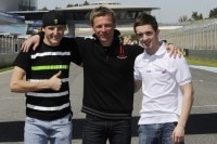 Racing Team Germany 2013: Miller, Heidolf und McPhee
