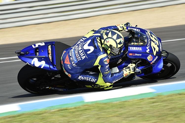 Valentino Rossi Yamaha Habe Es Eiliger Als Yamahamotogp Speedweek