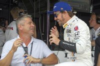 Gil de Ferran mit Fernando Alonso