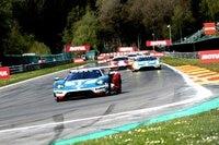 Rennwagen: Der Ford GT auf dem Weg zu Les Combes