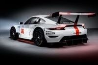 Das Heck des Porsche 911 RSR in der Version 2019