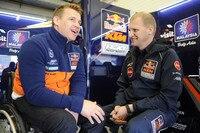 Pit Beirer und Red Bull-KTM-Teamchef Aki Ajo