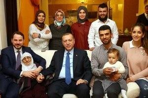Recep Tayyip Erdoğan war der Stargast in Kenan Sofuoglus Haus