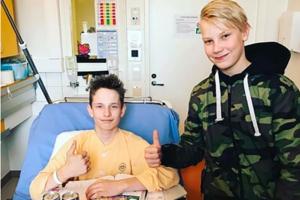 Peetu Paavilainen mit dem finnischen GP-Pilot und Ex-Rookie Patrik Pulkkinen