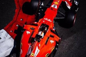 Sebastian Vettel in Baku