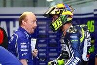 2014: Rossi mit seinem neuen Crewchief Galbusera