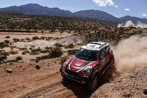 Eine schweirige Rallye Dakar für Mikko Hirvonen