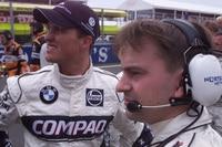 Craig Wilson mit Ralf Schumacher