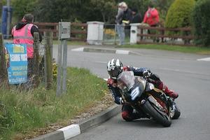 Michael Dunlop 2014 auf der Supertwin-Kawasaki