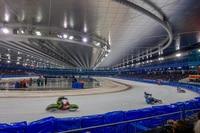 Imposante Arena: das «Thialf» in Heerenveen