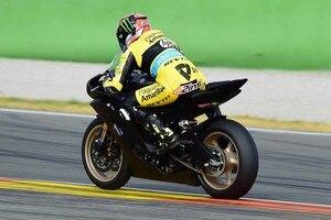 Alex Rins auf der Yamaha R6 in Valencia