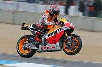 Als ob er nie was anderes gemacht hätte: Marc Márquez auf der Honda RC213V