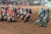 Clement Desalle zog in Lacapelle den 'holeshot'