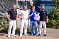 Das Markgröninger OP-Team von Smrz (Zweiter von rechts)