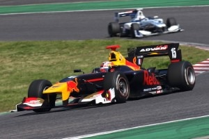 Pierre Gasly in der Super Formula