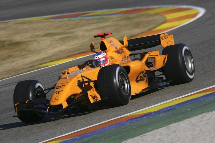 mclaren honda 2017 fernando alonso in orange formel 1 speedweek. Black Bedroom Furniture Sets. Home Design Ideas