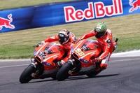 Nicky Hayden und Andrea Dovizioso: Limitierendes Element Ducati GP13