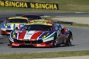 Bunt beklebt: Der neue Ferrari 488 GTE von AF Corse