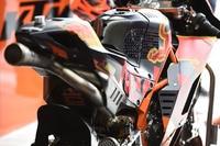 KTM RC16: Der strahlend orange Gitterrohrstahlrahmen ist nicht zu übersehen