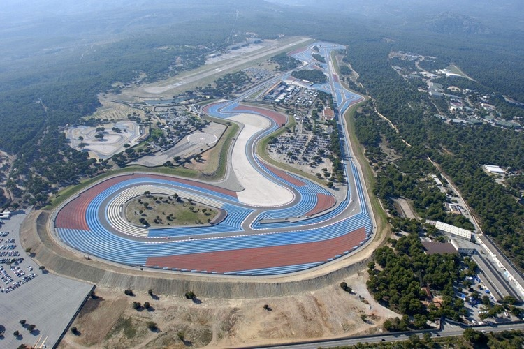 Circuito Paul Ricard : Le castellet formel tests in frankreich