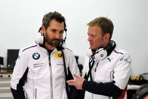 Timo Glock mit seinem Teamchef Stefan Reinhold