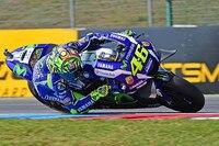 Auch Valentino Rossi und das Yamaha-Werksteam testen am Montag in Brünn