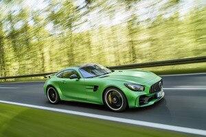 Der Mercedes-AMG GT beflügelt die Fantasie von Lewis Hamilton