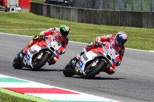 Andrea Dovizioso und Andrea Iannone ziehen für Ducati ins Feld
