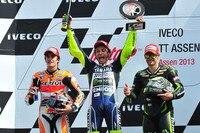 Assen-GP: Márquez, Sieger Rossi und Crutchlow