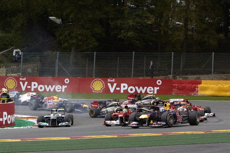 Spa Francorchamps Gp Bis 2015formel 1 Speedweek