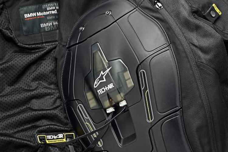 bmw street air dry airbag jacke ohne einschr nkungen. Black Bedroom Furniture Sets. Home Design Ideas