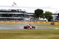 Pech für Sebastian Vettel: In der zweitletzten Runde platzte der Reifen